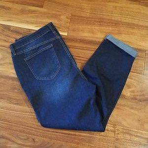 NWT Lauren Conrad Skinny Ankle Jeans